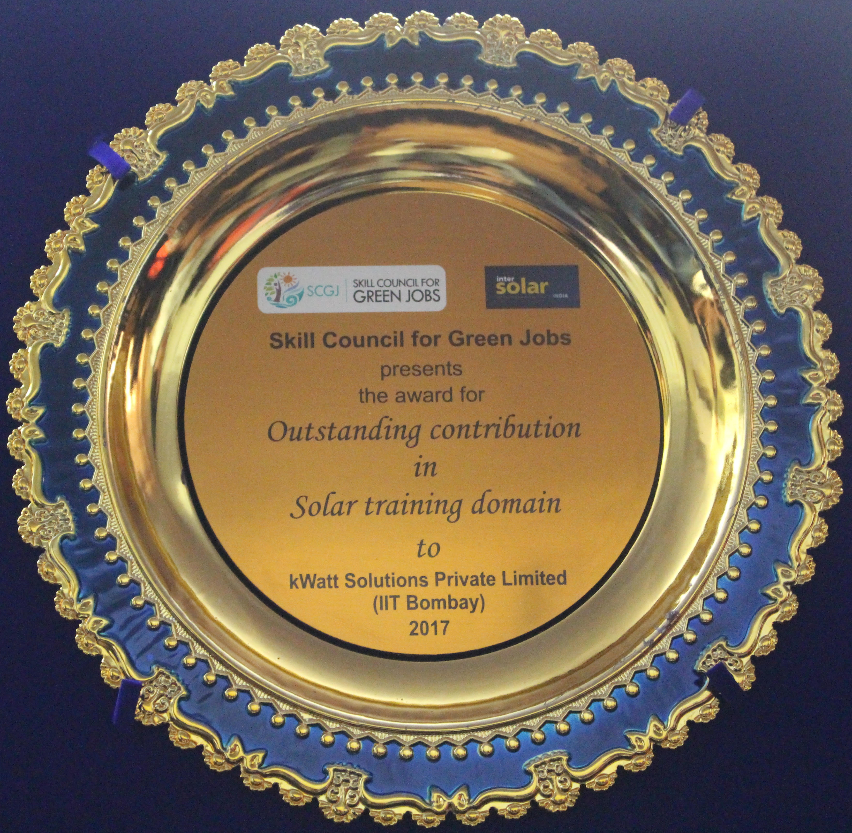 kWatt Solutions Pvt Ltd | Solar EPC Training India